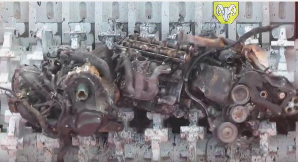 Watch This Crazy Junkyard Shredder Eat Entire Engines – Amazing Power And Destruction