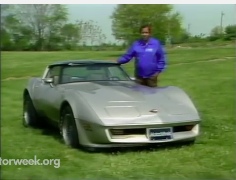 Fun Video: Watch This Motor Week Review Of The 1982 Corvette Collectors Edition