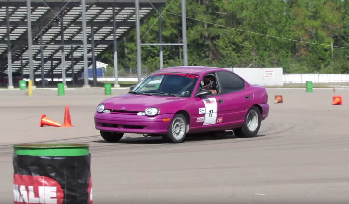 ACED: AutoCross Every Day! Watch This 440 Powered Mid Engine Neon Run Around The Course