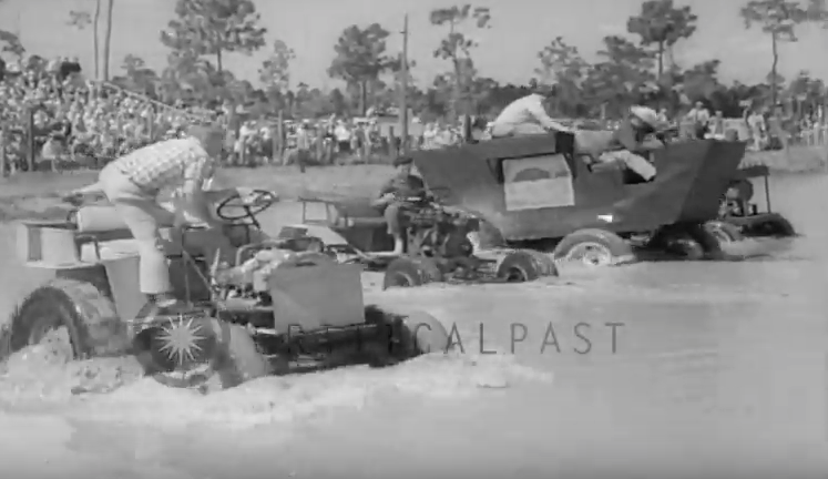 Awesome Video: 1966 Footage From The Swamp Buggy Races In Naples, Florida