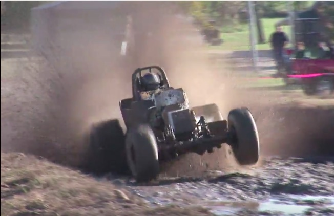 Classic YouTube: Watch As This Mud Drag Driver Gets Rattled Inside Of The Cage Like A Shaken Bobblehead Doll