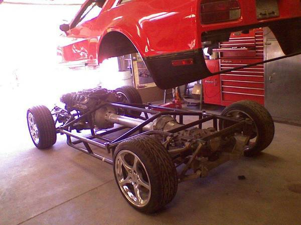 Bangshift Com Some Assembly Required Would You Be Interested In A Bricklin With C4 Corvette