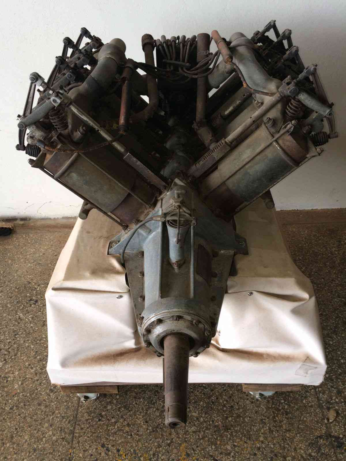 eBay Find: This 1917 Curtiss OX-5 V8 Engine Is An Amazing Historical Relic