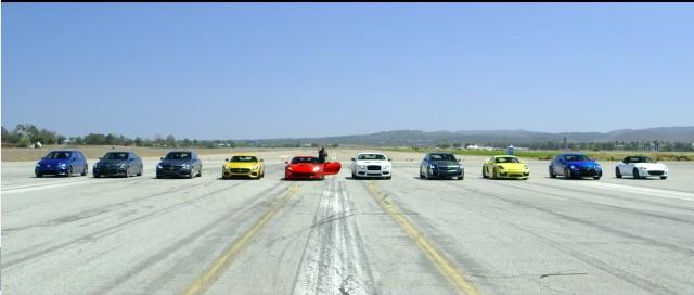 Ten Cars, One Quarter Mile: Motor Trend's World's Greatest Drag Race 5!