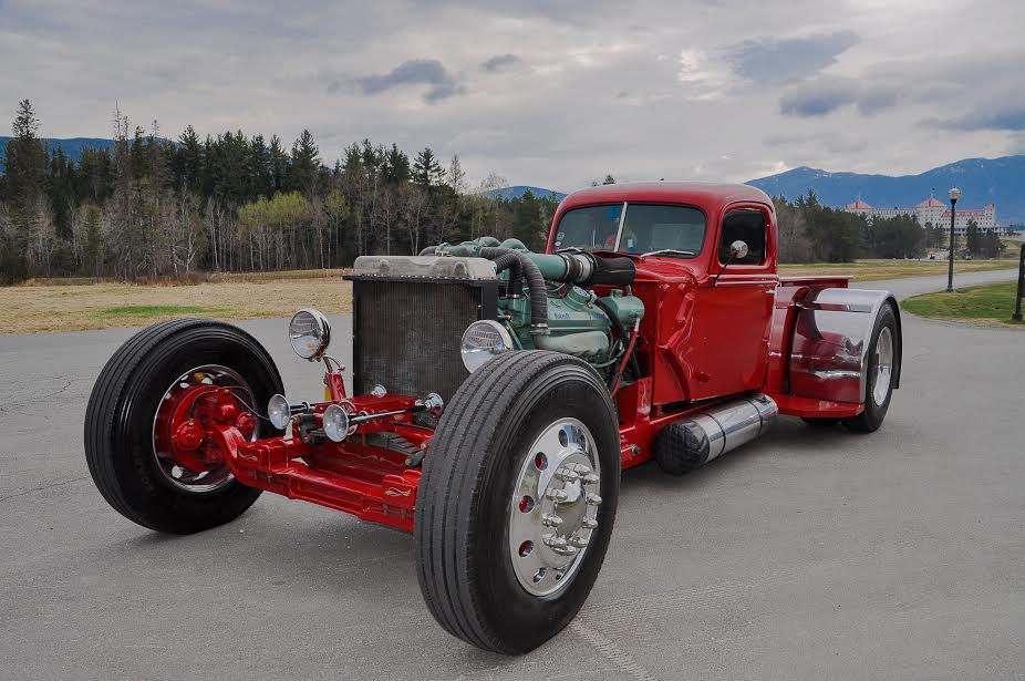 Rig Rod Feature: This Detroit Diesel Powered Rod Started Life As A Fire Truck!