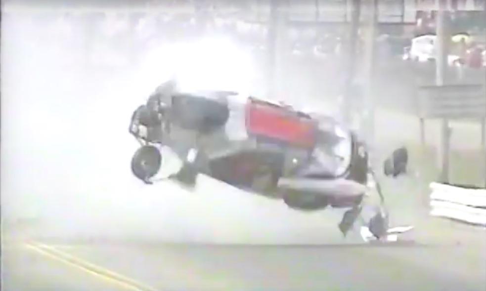 Classic YouTube: Ronnie Sox's 1995 Crash At The IHRA Summernationals At U.S. 41 Dragway