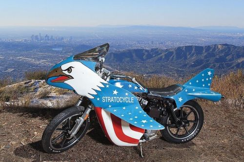 evel knievel stratocycle. Black Bedroom Furniture Sets. Home Design Ideas