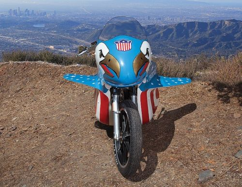 Famous Evel Knievel Bike At Auction: BangShift.com Evel Knievel Stratocycle