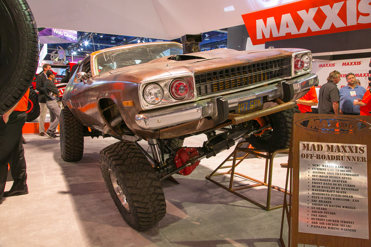 Love It Or Hate It? Fred Williams' Crazed 1973 Mad-Maxxis Off-RoadRunner Looks Tough At SEMA