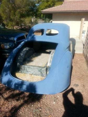 BangShift com WOW! Screaming Deal On A 1941 Willy's Fiberglass Body