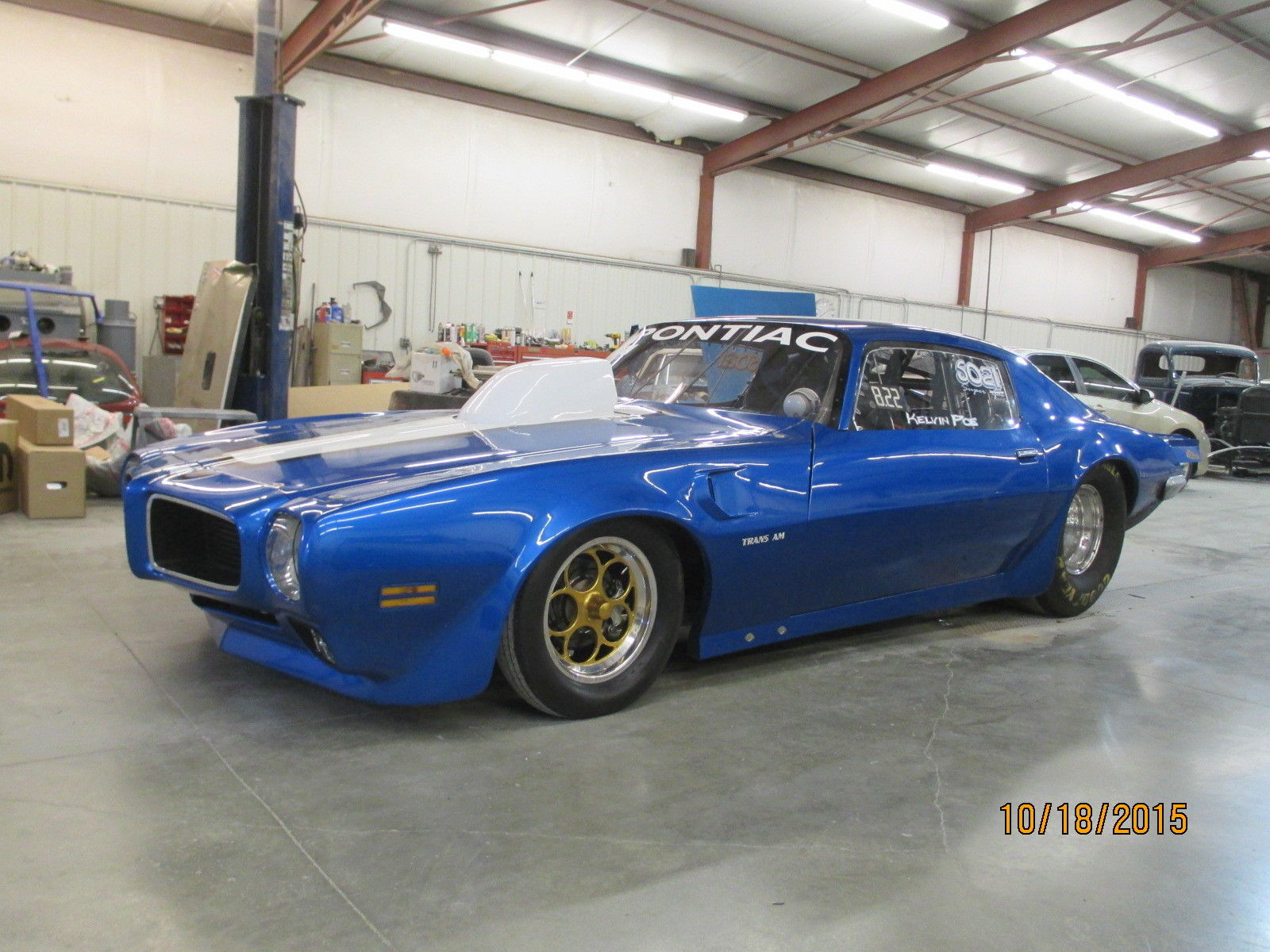 BangShift.com This 1970 Pontiac Trans Am Is Certified to 6.0 And ...
