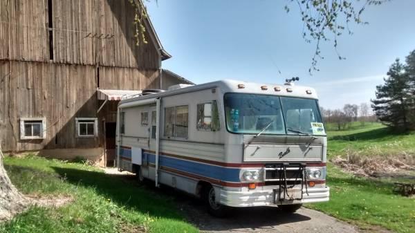 Beautiful Motorhome Travels Vintage Rv Rv Caravans Campers Forward 1978 Newell