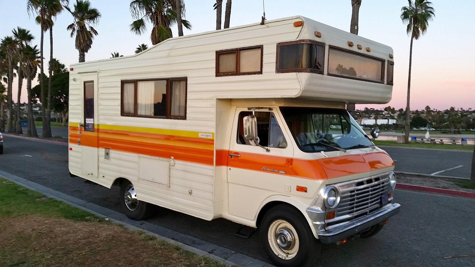 Ultra Rare This 1970 Ford Motorhome Has An
