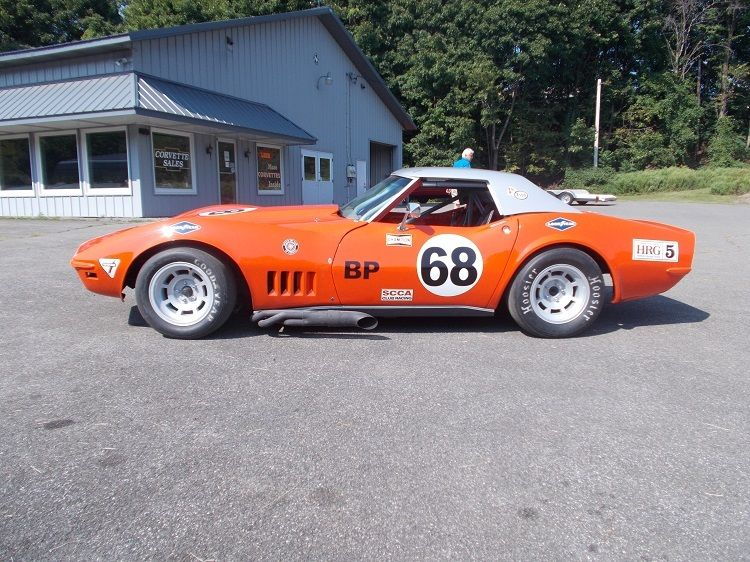 this 1968 b production scca c3 corvette is. Black Bedroom Furniture Sets. Home Design Ideas