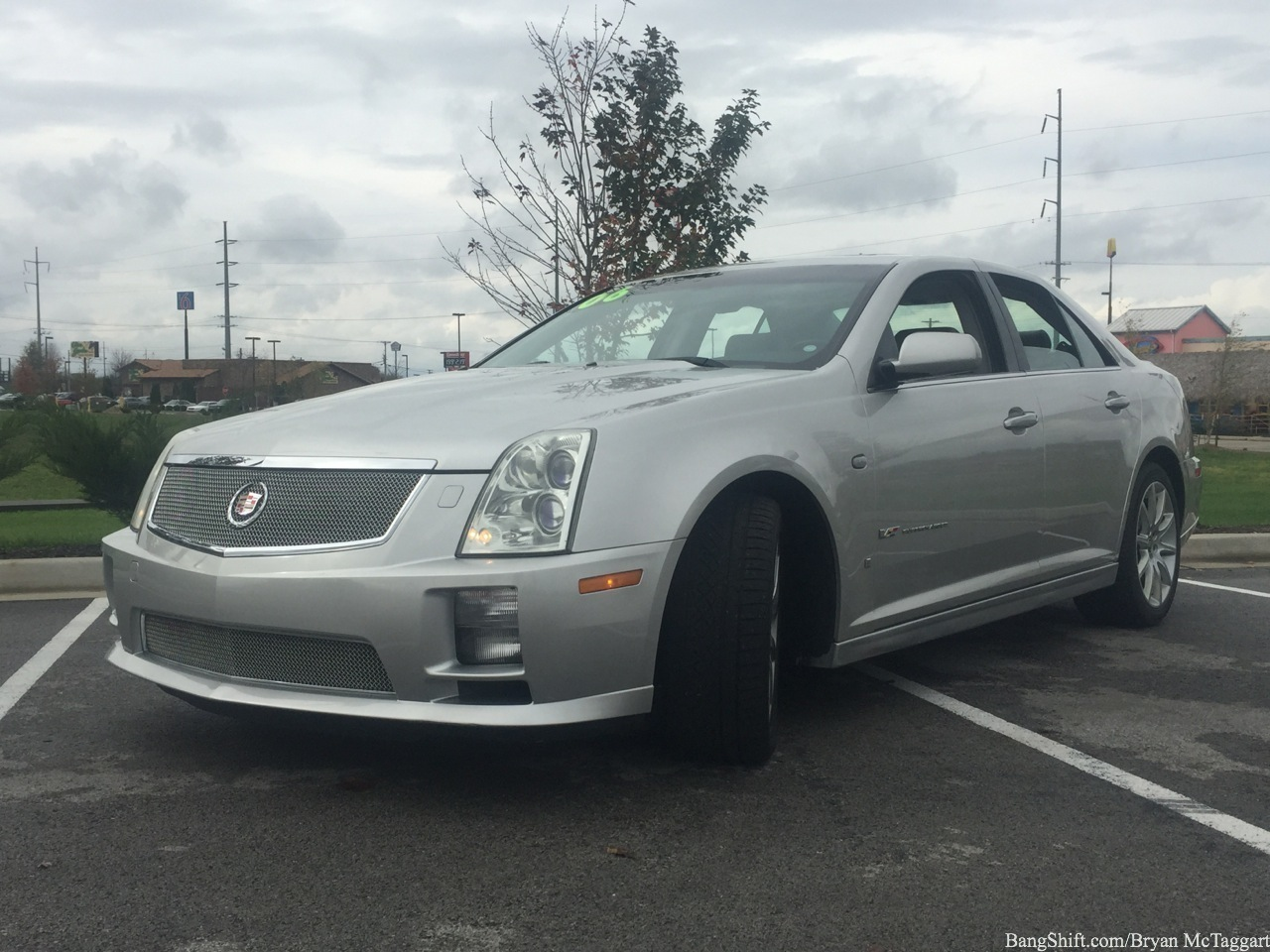 used car lot review 2006 cadillac sts v meet the cts v 39 s equally angry big. Black Bedroom Furniture Sets. Home Design Ideas