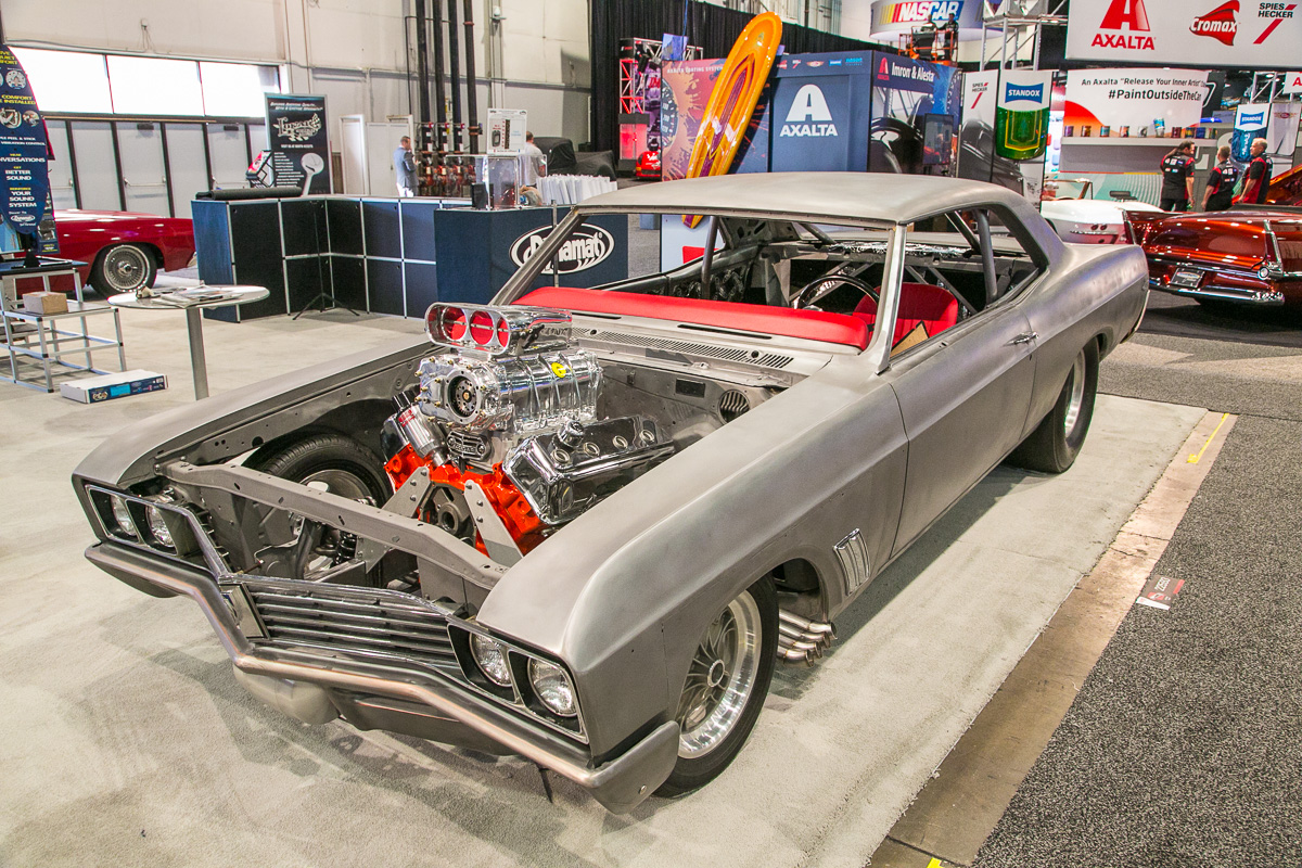 SEMA 2016: Will The Steel Bodied 1967 Buick Street Funny Car From SEMA 2015 Be Topped?