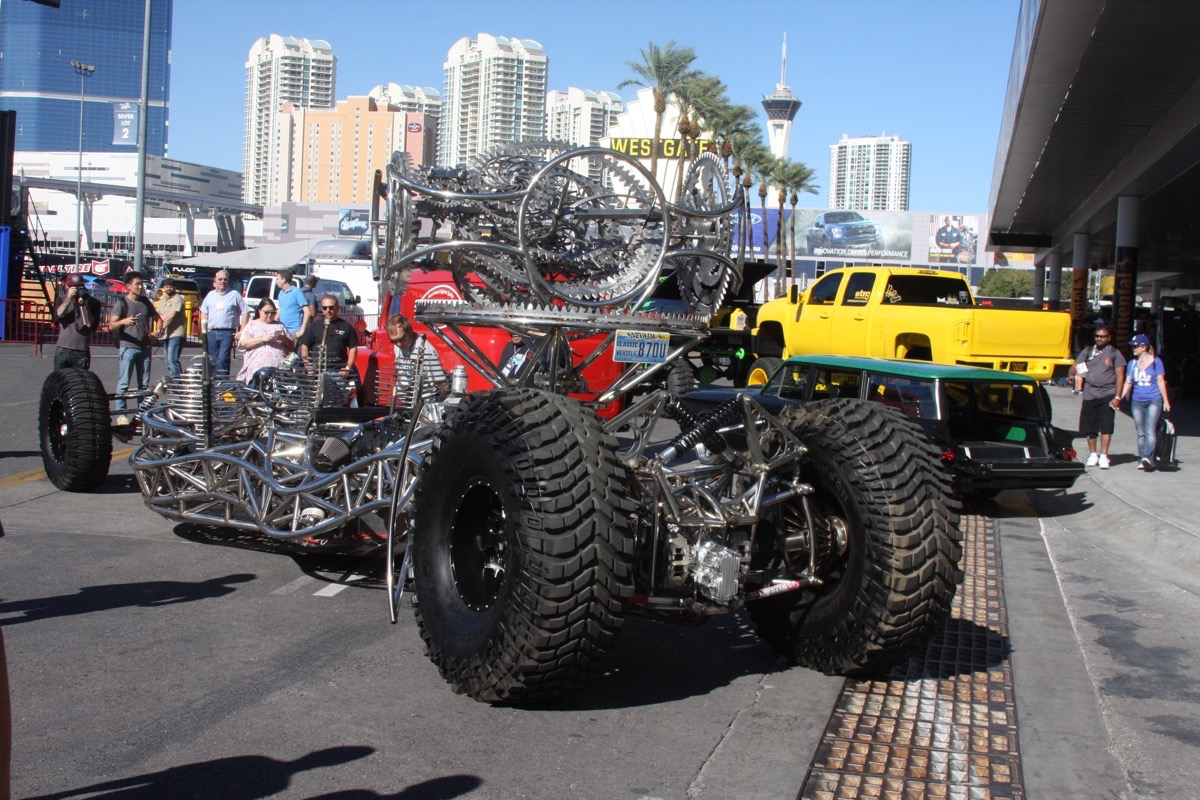 Sema Show 2015 Coverage: An Ariel Atom Meets Mad Max – The Most Off The Wall Thing Ever