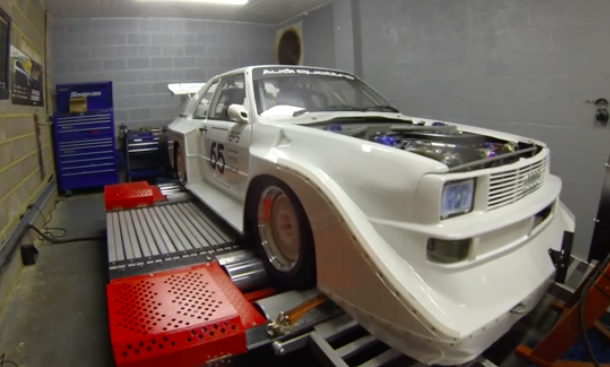 Monster: Watch This All-Wheel-Drive, Twin Turbo V8 Audi Lay Down 900+ On The Chassis Dyno