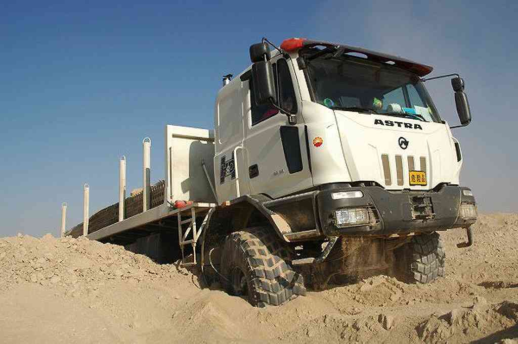 King Of The Cab Overs? The Iveco-Astra Line Of Trucks Is Built To Dominate Loads And Terrain