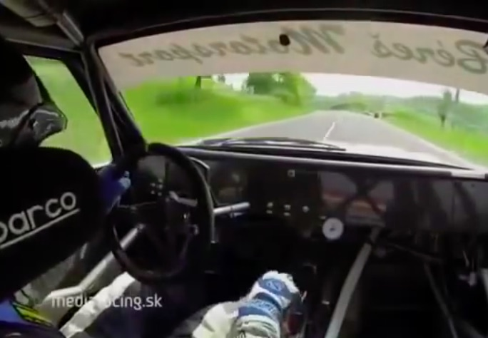 The Starting Shift: Ride Along In A Gear Jamming, Hard Pulling, Group B Audi On A Hillclimb