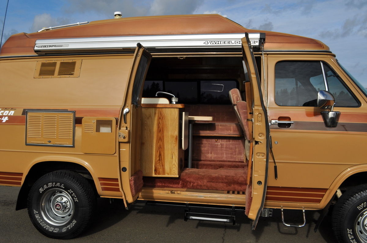 Bangshift Com Chad Special A 1989 Chevrolet 3 4 Ton 4x4 Class B Motorhome By Falcon For When