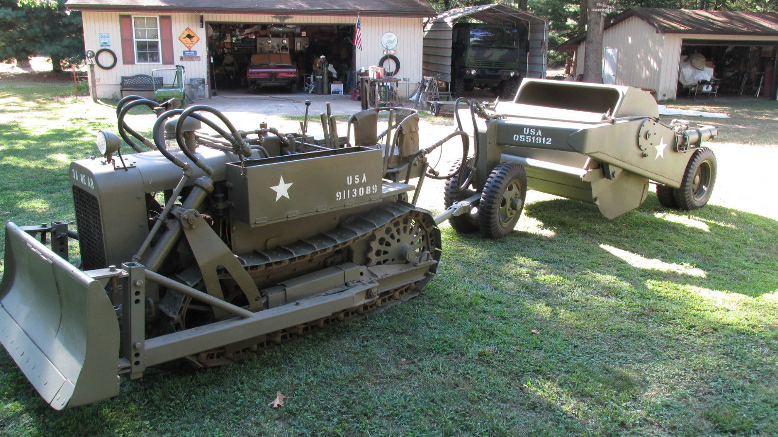 eBay Find: This 1943 Clark CA-1 Airborne Crawler Tractor And Scraper Are Awesome WWII Pieces