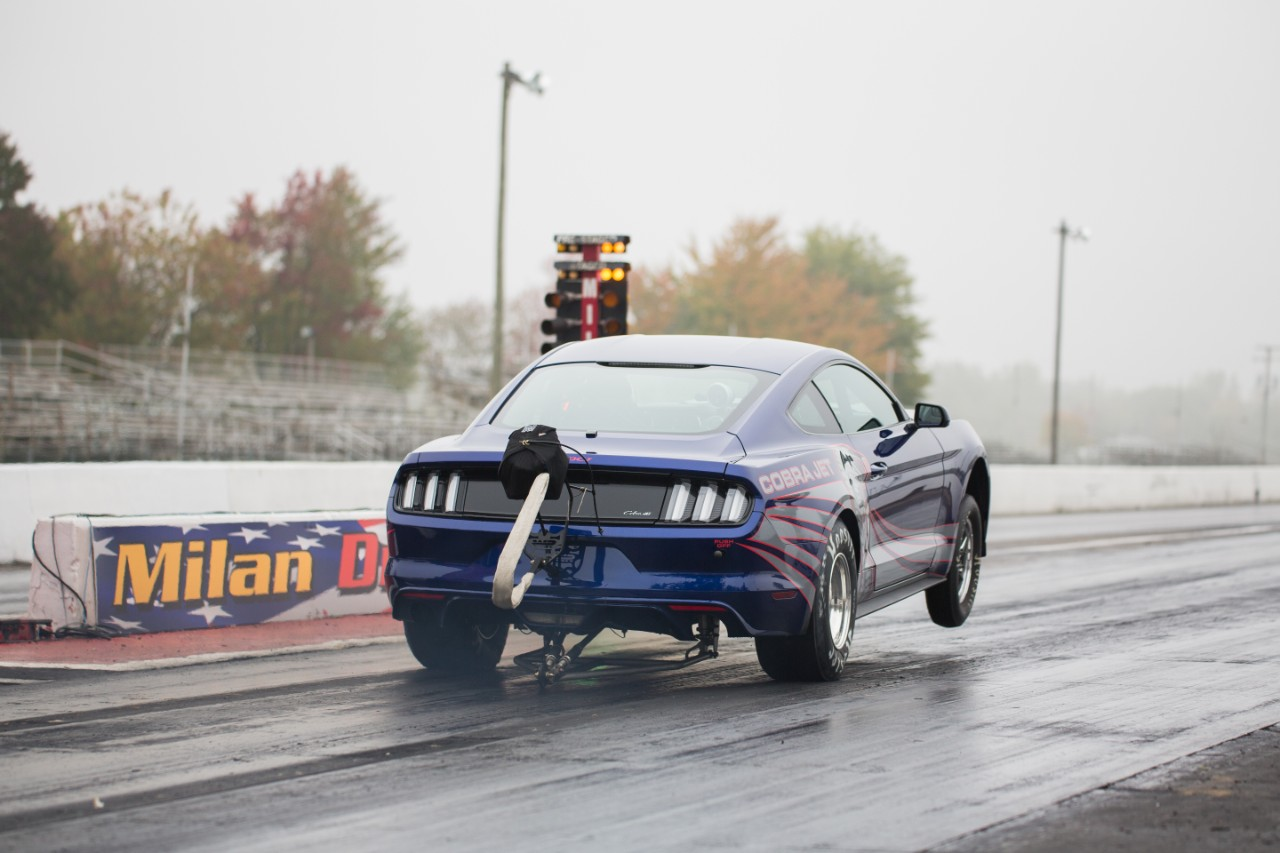 Video Ford Performance Unveils  Mustang Cobra Jet Response To Copo Is Strong