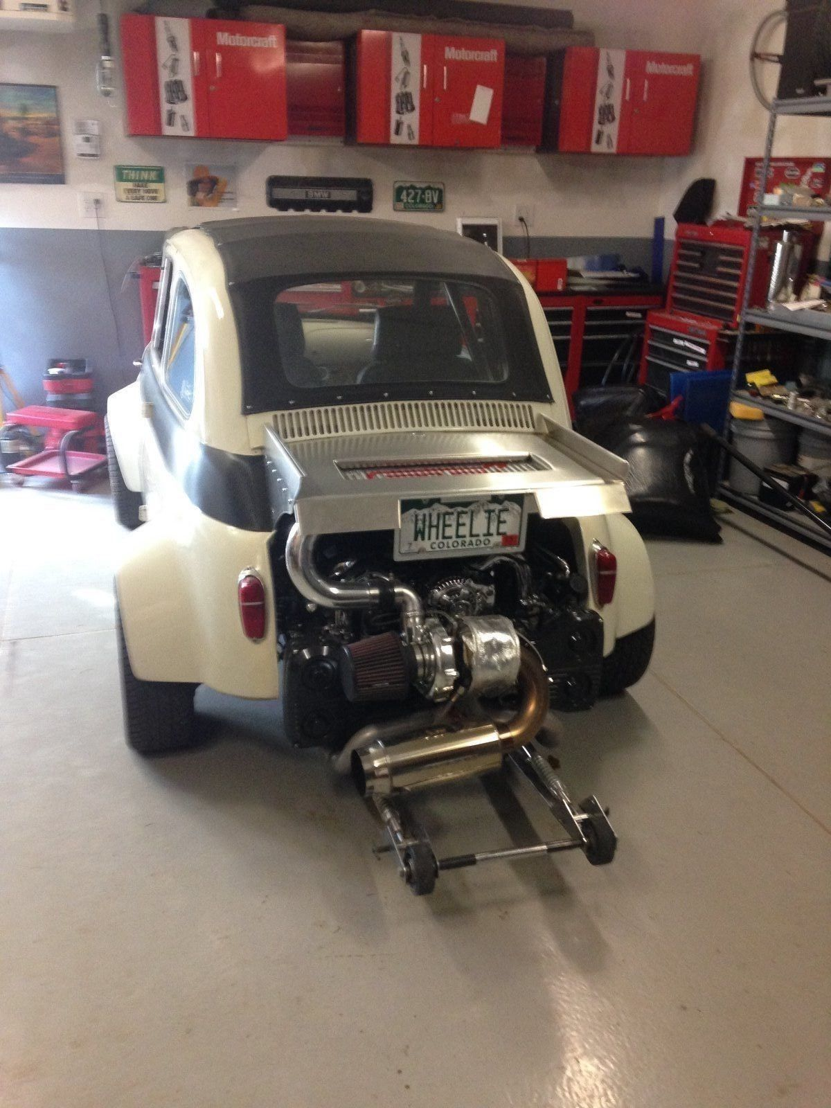 BangShift com Highly modified 1957 Fiat 500