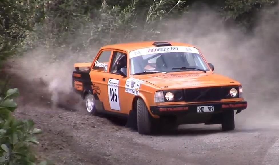 Flying Bricks! Enjoy A Half-Hour Of All-Volvo Rally Footage – Good, Bad And Ugly!