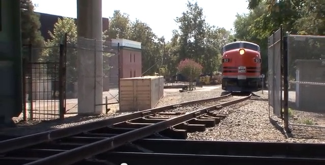When Moving A Locomotive, The Shortest Distance Between Two Points Is The Easiest Route. But What If There Is No Track? Just Make One!