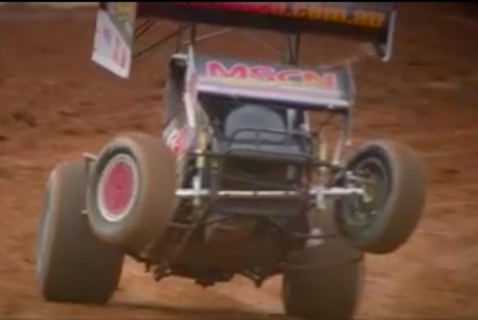 Dirt Power Wheelie: Watch Lachie Abbott Put An Aussie Sprint Car Near Vertical