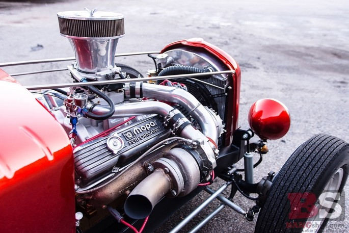 1943 Plymouth hot rod turbo 440 engine 2