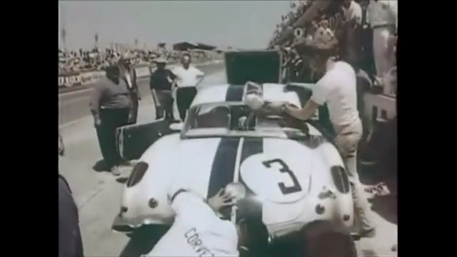 Historical Footage: Corvette At LeMans In 1960 – From Off The Ship To The End Of The Race, Get A Glimpse Into How The Corvette Did On It's First Outing At LeMans
