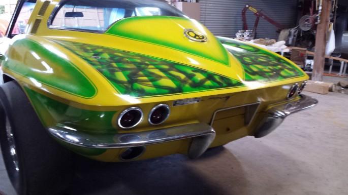 1965 Corvette Gasser Bad Ass 5