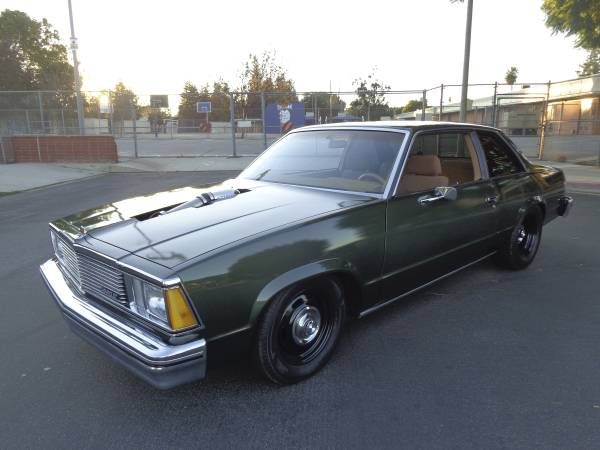 this sleeper 5 3 turbo ls powered 1980 malibu is our jam. Black Bedroom Furniture Sets. Home Design Ideas