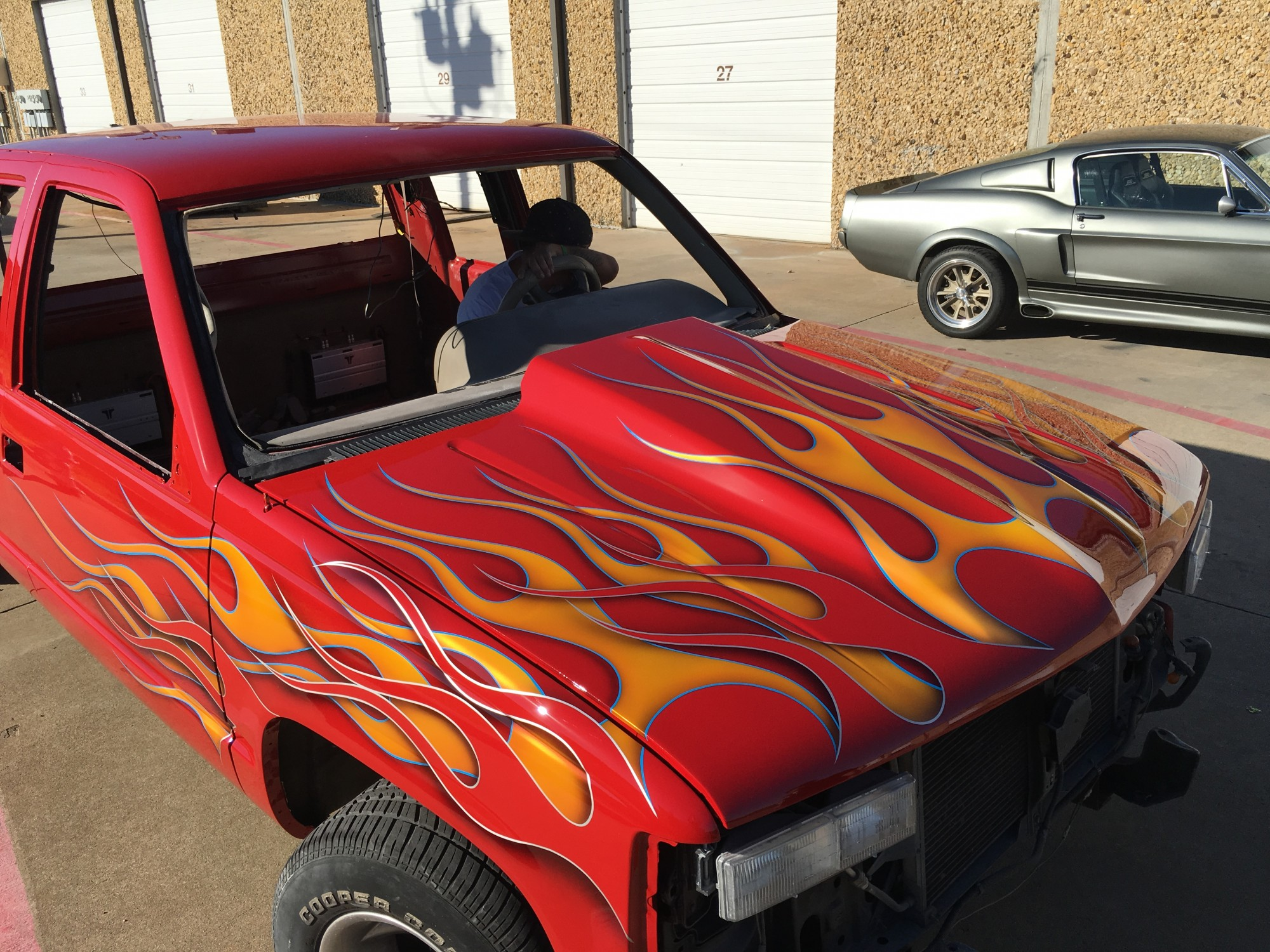 Check Out The Dusold Designs Guys Flaming A Chevy Pickup! Tons Of Work But Bitchin!