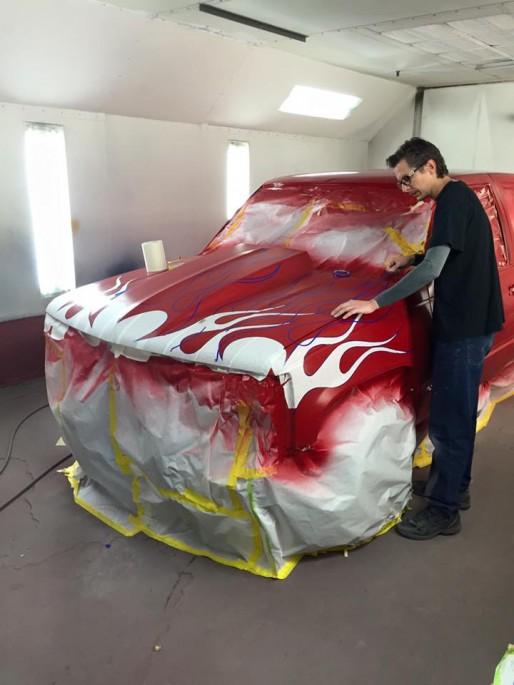 Dusold Designs Flames Paint