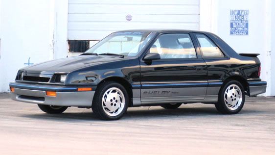 The Shelby CSX - the full potential of the Dodge Shadow/Plymouth ...