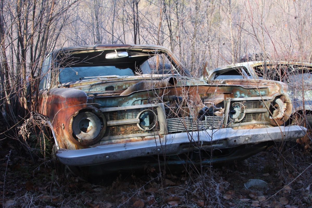 Junkyard Heaven: Gates Salvage Yard In Hardwick Vermont – Our First Look At The Classic Iron