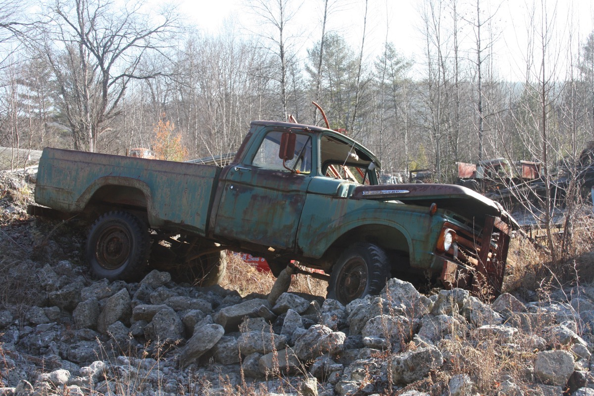 Gates Salvage Yard Tour: These Rusting Hulks Of Americana Sure Capture The Imagination