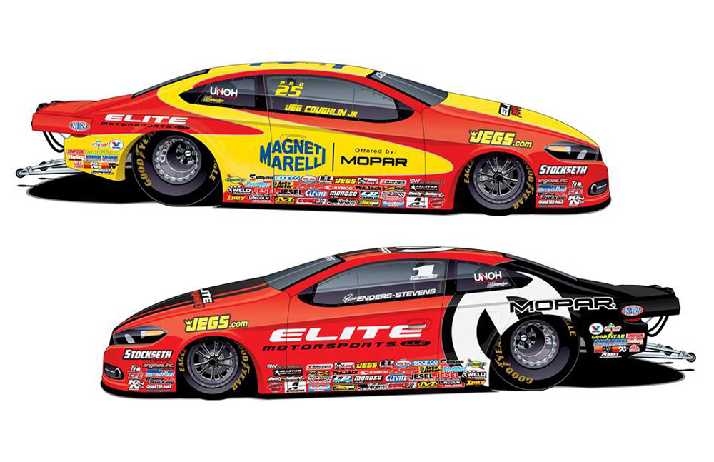 Pair Of Pro Stock Champions To Drive With EFI Mopar HEMI® Power