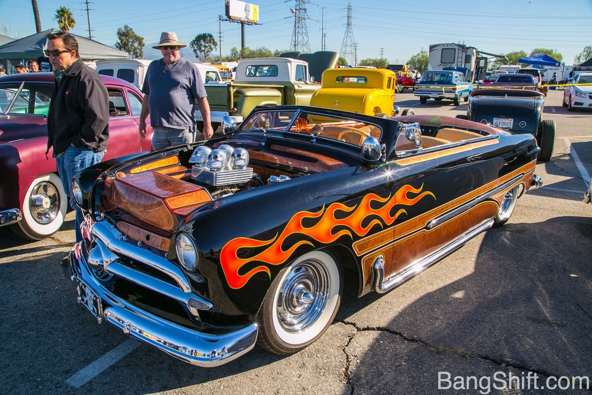 More Hot Rods, Customs, And Lowriders Photos From The Mooneyes X-Mas Party And Drags 2015