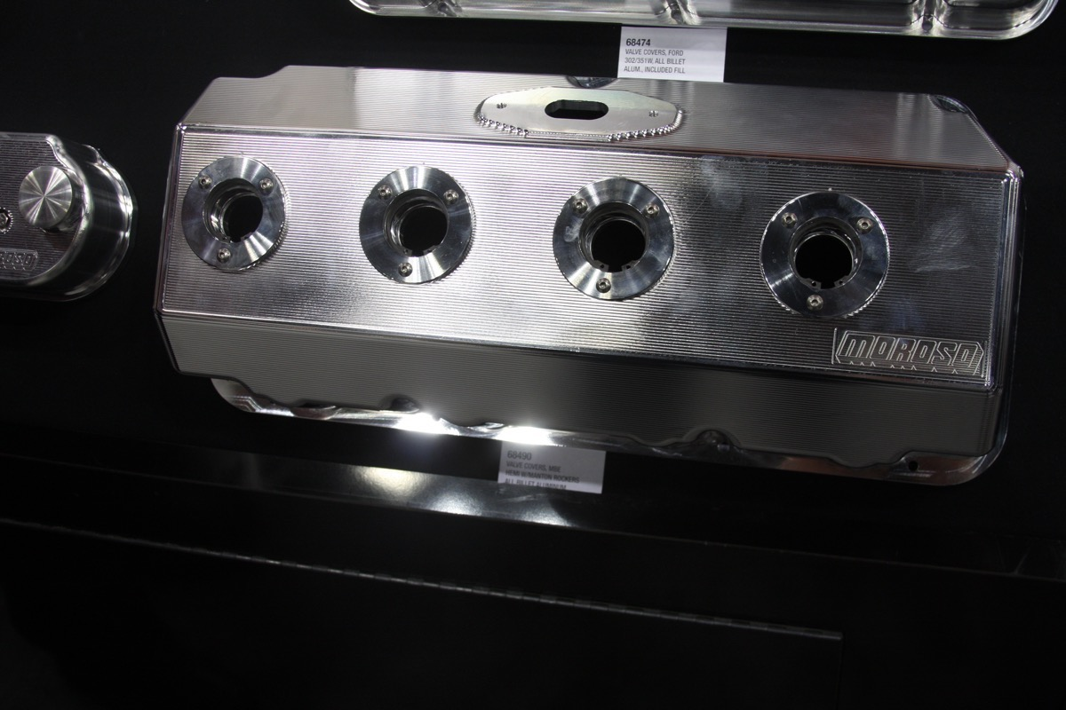 PRI 2015: Moroso Brings The Heat To Valve Covers – Billet Pieces, Fabricated Style, Ford, GM, Chrysler