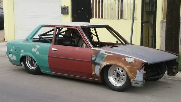 this tube chassis corolla is like a miniature pro stock car and it 39 s for sale. Black Bedroom Furniture Sets. Home Design Ideas