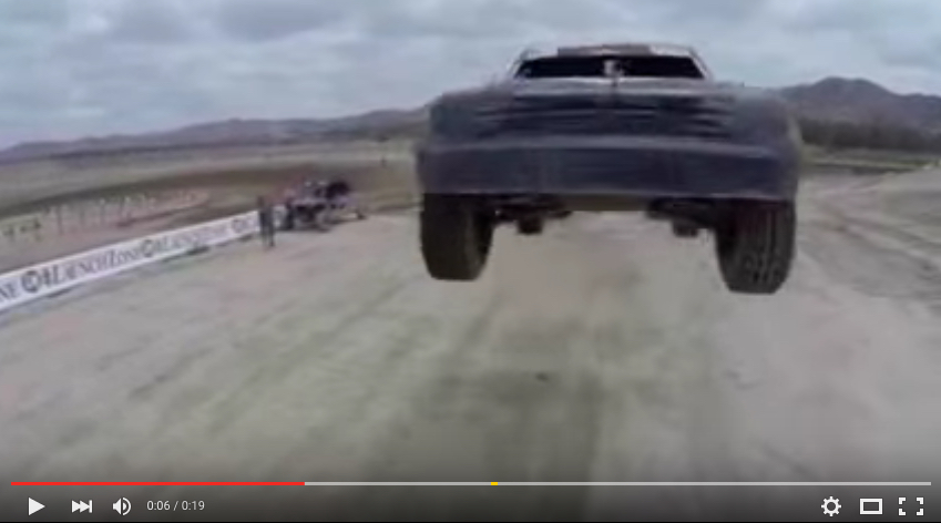 Brad Deberti's Trophy Truck Hits A Drone In Mid Air During McDonald's Commercial Shoot!