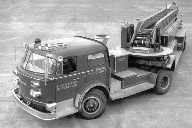 A Turbine Powered Fire Truck? You Bet, The Turbo Chief Was In Service For Nearly Two Years!