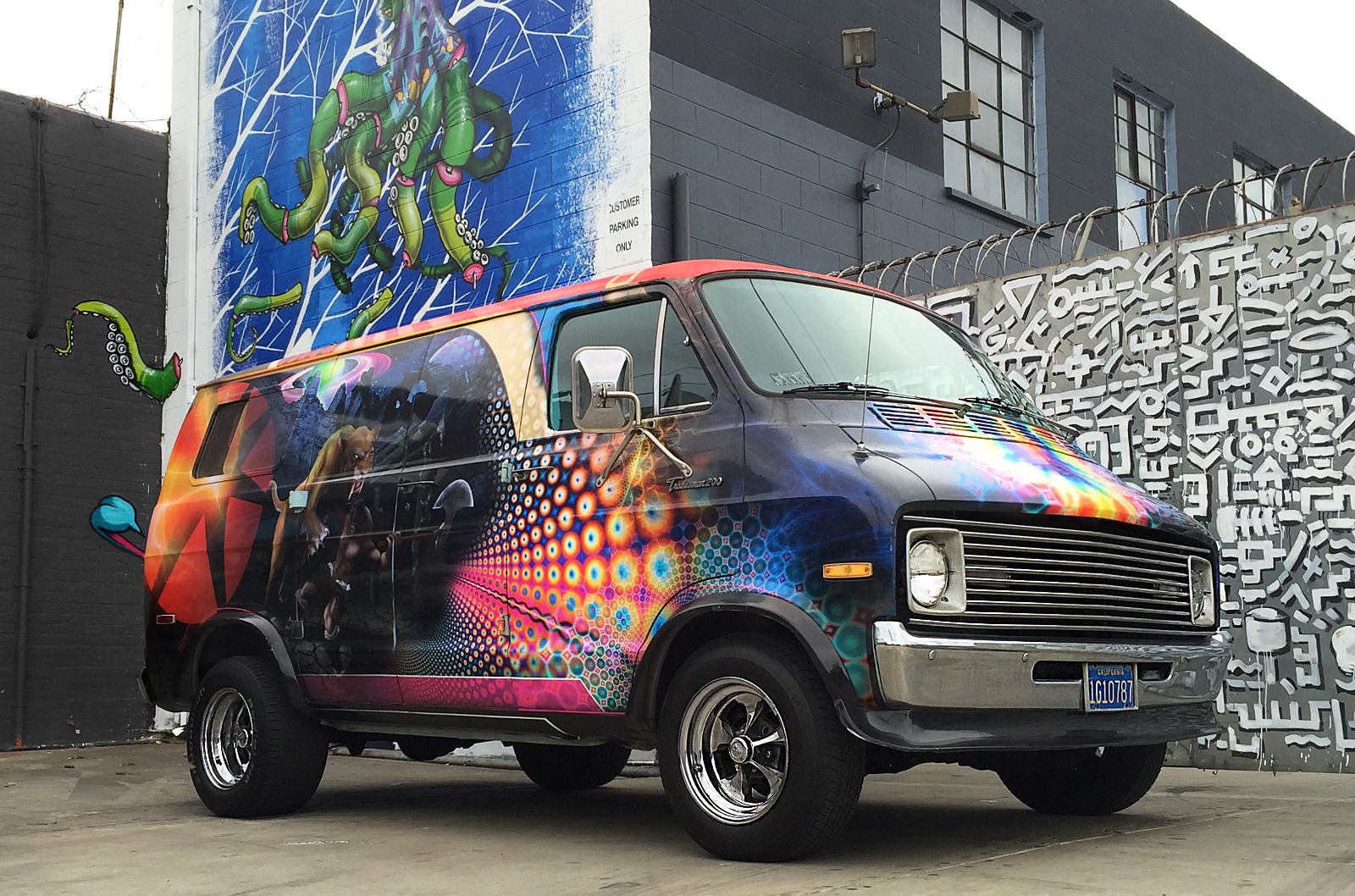 No, It's Not A Flashback – Another Dodge Disco Van Has Hit The Auction Block!