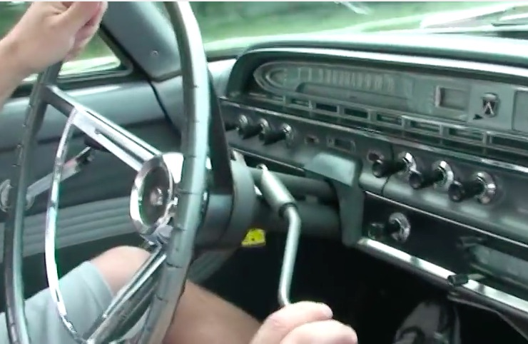 American Powertrain Parting Shift: 1961 Ford With A Four Speed On The Column?! Most Controversial Linkage Ever
