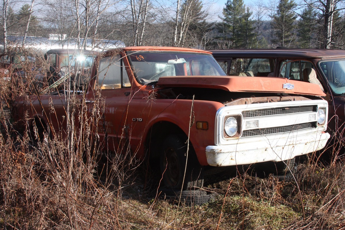 Gates Auto Salvage Tour: We Look At The Cast-Aside Work Trucks That Rest And Rust In Vermont