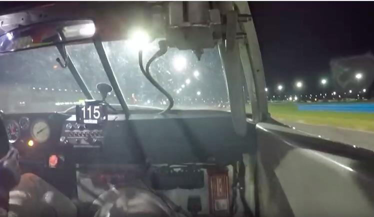 Ride Along In A Thundering Big Block (Real) Greenwood Corvette As It Laps Daytona At Night